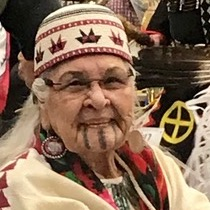 Aggie at SOU PowWow, 2019