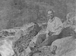 George Baker - Grandma Aggie's Father at Ti'lomikh