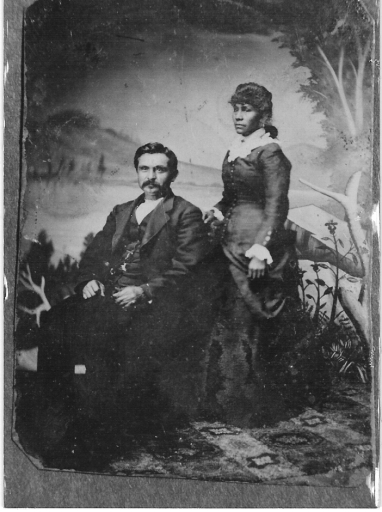 Great Aunt Agnes Harney Howard with husband, Joe Howardoward