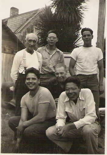 Grandpa, 4 Brothers, and Father