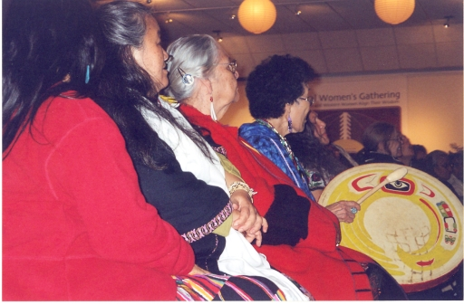 First meeting of the International Council of 13 Indigenous Grandmothers in New York, 2004