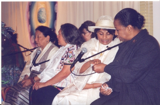 Grandmothers and guests at Council Meeting in New York, 2004