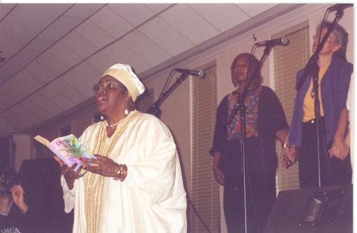 Author Luisah Saimai at Council Meeting in New York, 2004