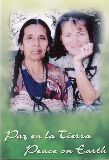 Grandmother Julietta Casimiro and translator Francoise Bourzat from Oaxaca, Mexico, 2006